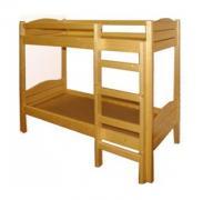 Кровать 2-ярусная, массив