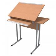 Стол для черчения 1-но местный с регулируемым углом наклона