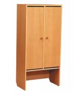 Шкаф для раздевания 1-но, 2-х  секционный