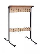 Вешалка напольная 2-х сторонняя на 40 крючков