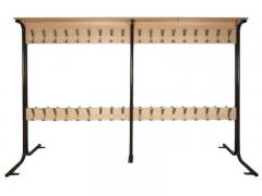 Вешалка напольная 2-х сторонняя на 80 крючков